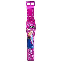 Disney Frozen - Kids Frozen all over print lcd watch