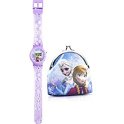 Disney Frozen - Kids Frozen watch & purse set