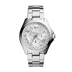 Fossil - Silver multifunction stainless steel watch