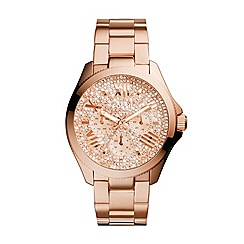 Fossil - Rose multifunction stainless steel watch