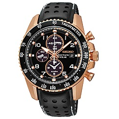 Seiko - Mens 'Sportura' solar chronograph watch