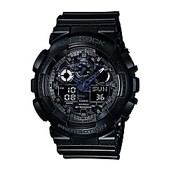 G-shock - Men's digital G-Shock watch ga-100cf-1aer