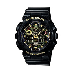 G-shock - Men's digital G-Shock watch ga-100cf-1a9er