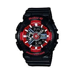 Casio - Ladies black 'Baby G' digital watch
