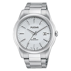 Pulsar - Men's stainless steel bracelet watch