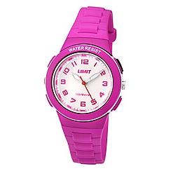 Limit - Childrens pink plastic strap watch 5592.24