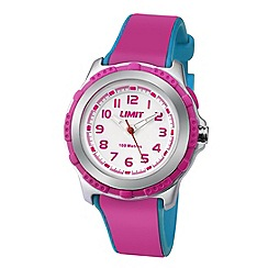 Limit - Childrens silver coloured plastic strap watch 5599.24