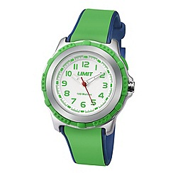 Limit - Childrens silver coloured plastic strap watch