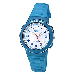 Limit - Childrens blue plastic strap watch
