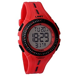 Limit - Childrens red digital plastic strap watch