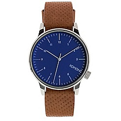 KOMONO - Men's winston blue cognac watch