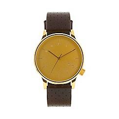 KOMONO - Men's winston gold watch