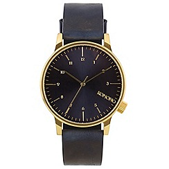KOMONO - Men's winston regal blue watch