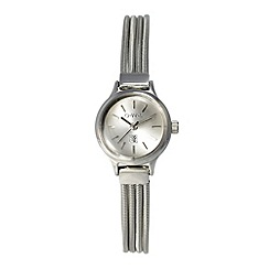 O.W.L - Ladies silver 'Chatsworth' bracelet watch