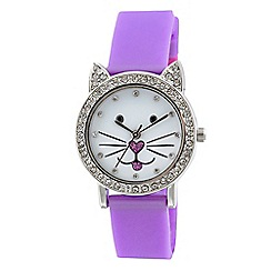 Tikkers - Purple cat watch