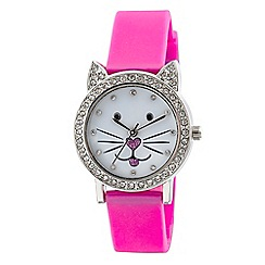 Tikkers - Pink cat watch