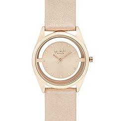 Principles by Ben de Lisi - Pale pink translucent analogue watch