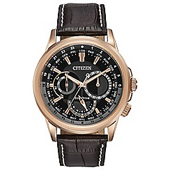 Citizen - Men's eco-drive calendrier watch bu2023-04e