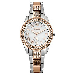 Oasis - Ladies two tone bracelet watch