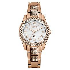 Oasis - Ladies rose gold tone bracelet watch