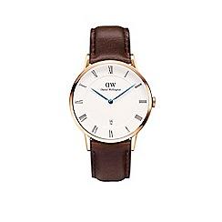 Daniel Wellington - Gents rose gold 'Bristol' watch