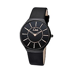 Limit - Men's black strap watch