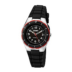Limit - Kids black strap watch