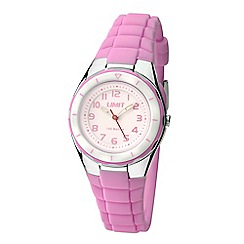 Limit - Kids pink strap watch 5588.24