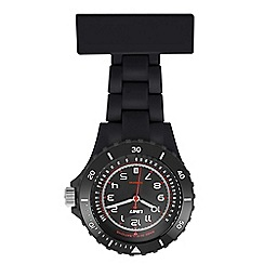 Limit - Unisex black nurses fob watch