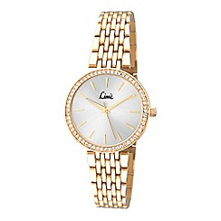 Limit - Ladies gold plated bracelet watch