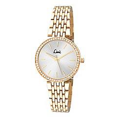 Limit - Ladies gold plated bracelet watch