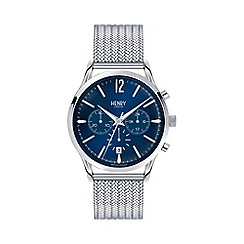 Henry London - Men's silver 'Knightsbridge' bracelet watch