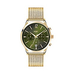 Henry London - Men's polished 'Chiswick' bracelet watch