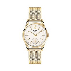 Henry London - Ladies polished 'Westminster' bracelet watch