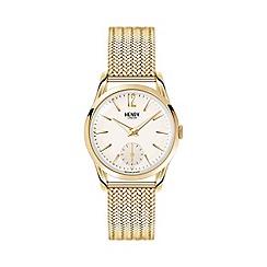 Henry London - Ladies polished 'Westminster' bracelet watch hl30-um-0004