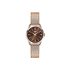 Henry London - Ladies rose gold 'Harrow' bracelet watch