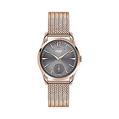 Henry London - Ladies rose gold 'Finchley' bracelet watch hl30-um-0116