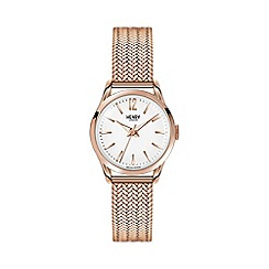 Henry London - Ladies rose gold 'Richmond' bracelet watch