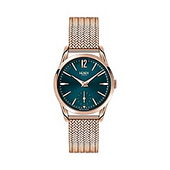 Henry London - Ladies rose gold 'Stratford' bracelet watch