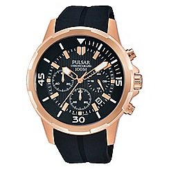 Pulsar - Men's RGP chronograph strap watch