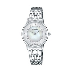 Pulsar - Ladies SS analogue bracelet watch prw025x1