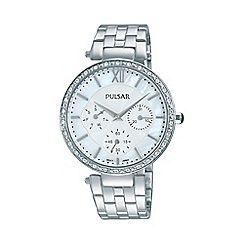Pulsar - Ladies SS multi dial bracelet watch