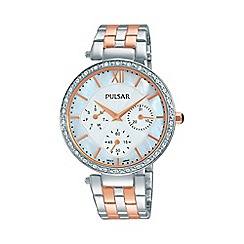 Pulsar - Ladies RGP TT multi dial bracelet watch