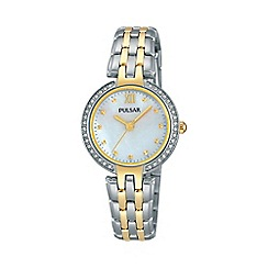 Pulsar - Ladies SS analogue bracelet watch ph8166x1