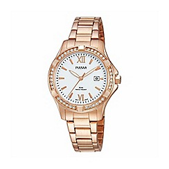 Pulsar - Ladies RGP analogue bracelet watch