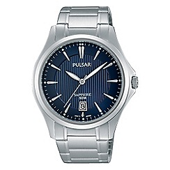 Pulsar - Men's blue analogue bracelet watch