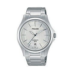 Pulsar - Men's white analogue bracelet watch ps9383x1