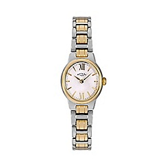 Rotary - Ladies two tone gold watch lb02747/01