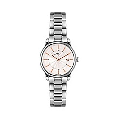 Rotary - Ladies stainless steel bracelet watch lb02770/07