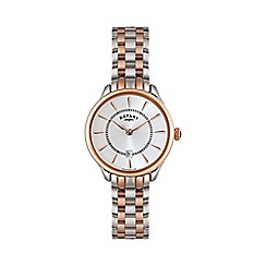 Rotary - Ladies two tone rose watch